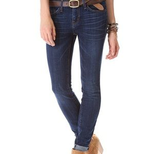 Current Elliot The Rolled Skinny Jean- Gibson Wash